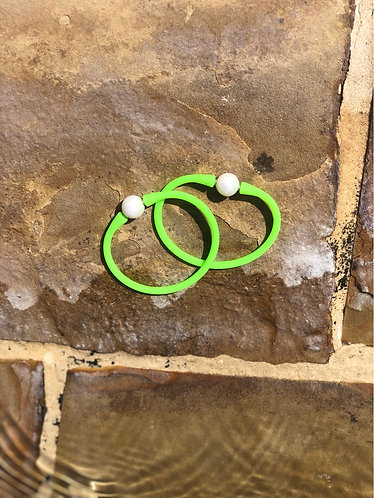Lime silicone pearl
