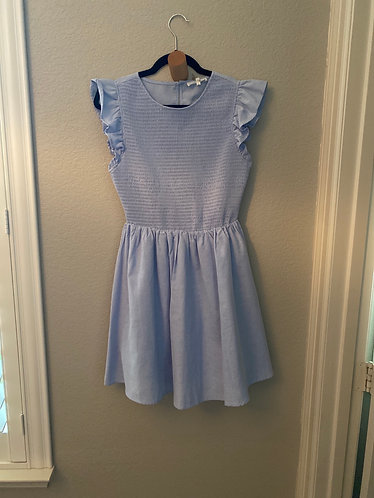 Periwinkle smoked dress small