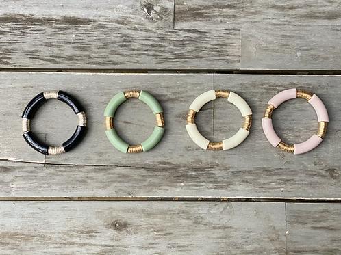 Coins & hula bracelet