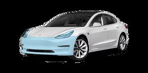 Tesla ppf solar screen