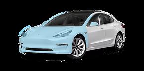 Tesla PPF face avant xpel