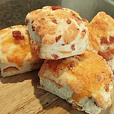 Scone Cheddar & Bacon