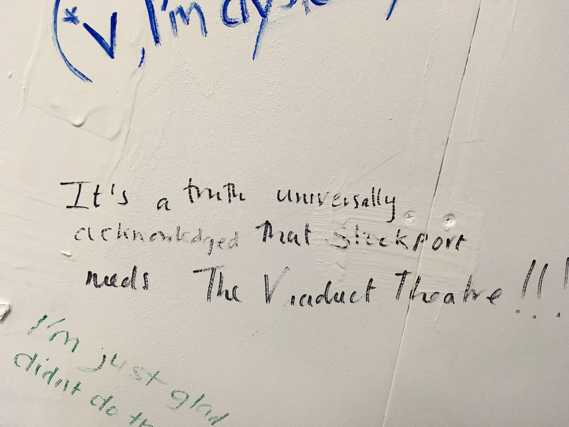Comments left on our feedback wall.