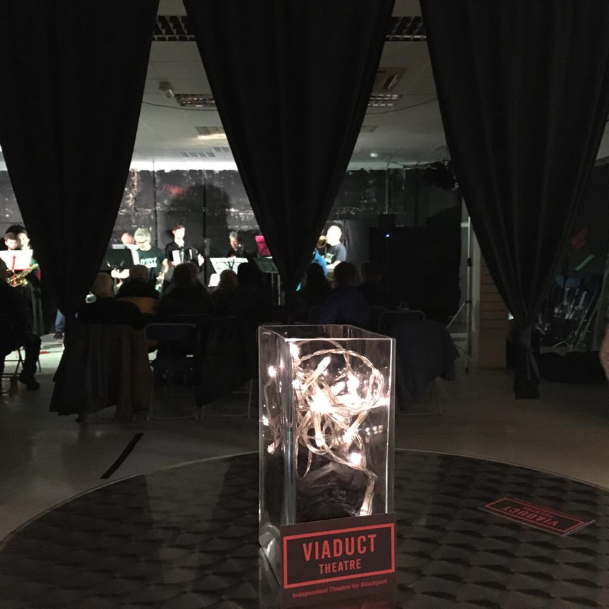 View from the bar during a concert.