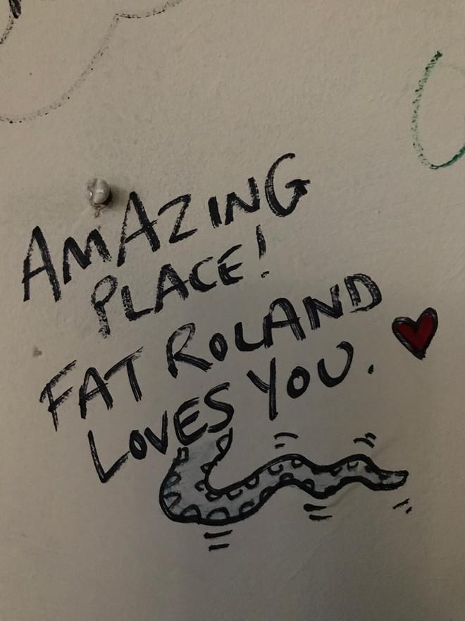 Fat Roland ran our Scratch Night.