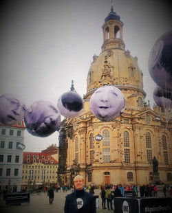Action in Dresden, Germany