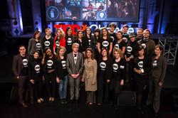 With Melinda Gates