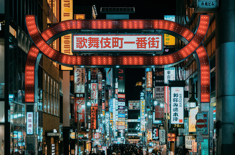 Tokyo - red light district