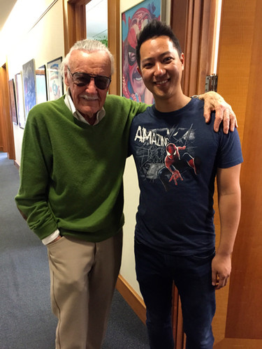 Stan Lee and George