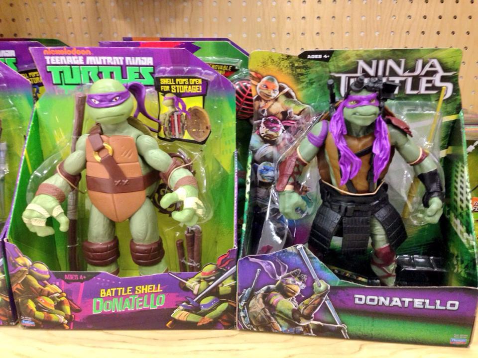 Teenage Mutant Ninja Turtles Comparison