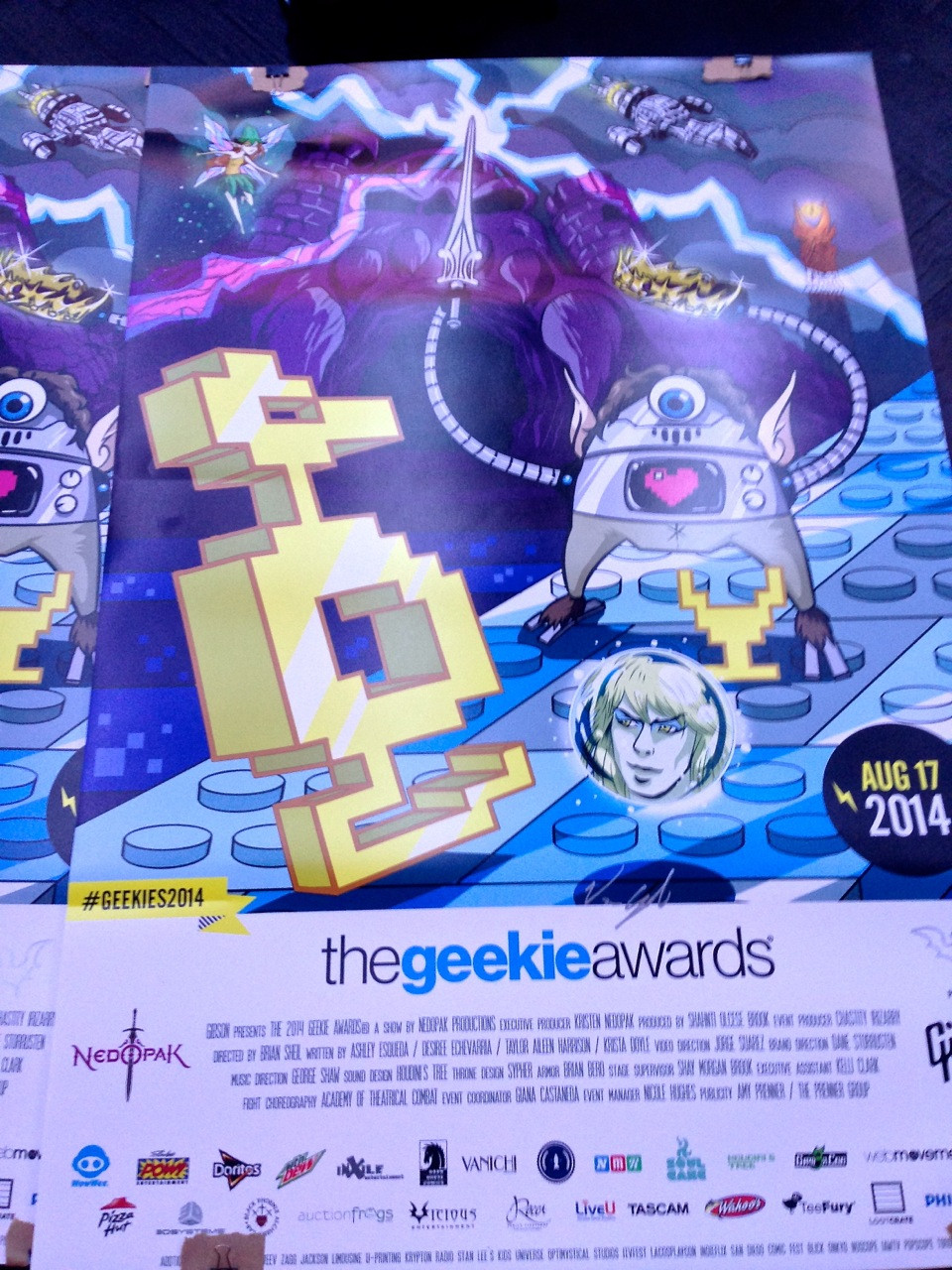 2014 Geekie Awards program