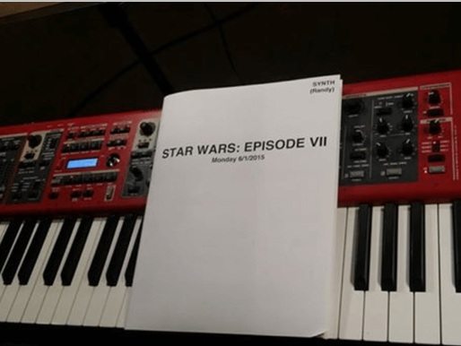 Star Wars Force Awakens Recording Session with John Williams in LA