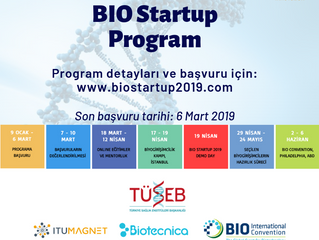 BIO Startup Hızlandırıcı Programı Başvuru Almaya Başladı!