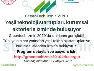Yeşil Teknoloji Startupları, Kurumsal Aktörlerle İzmir'de Buluşuyor