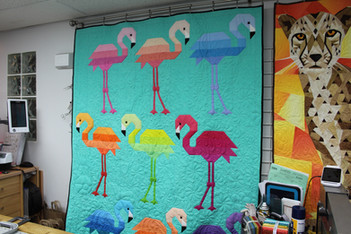 Colourful Flamingo