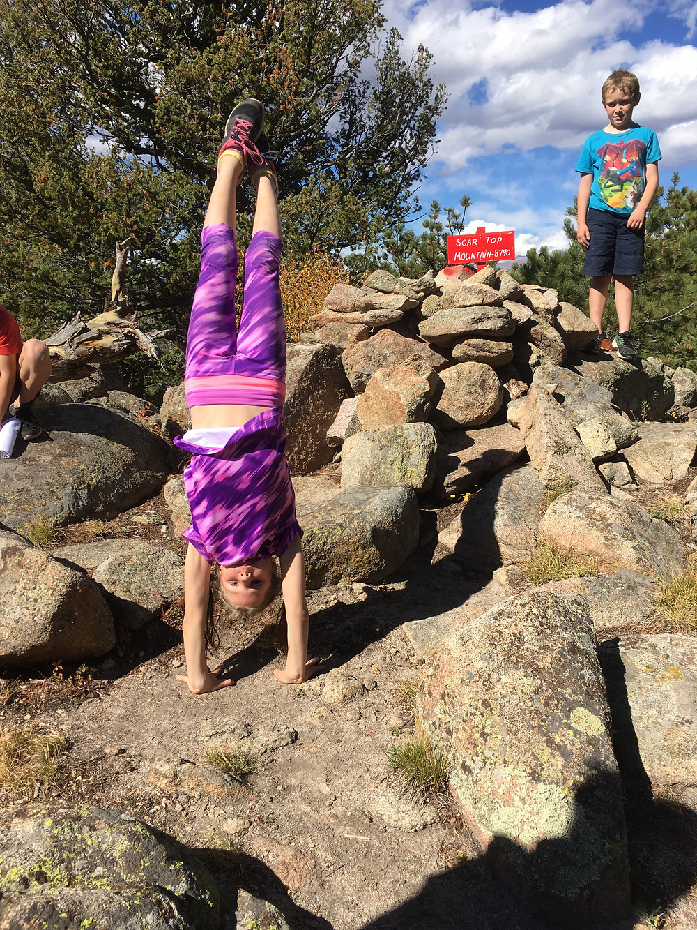 Mountaintop Handstand