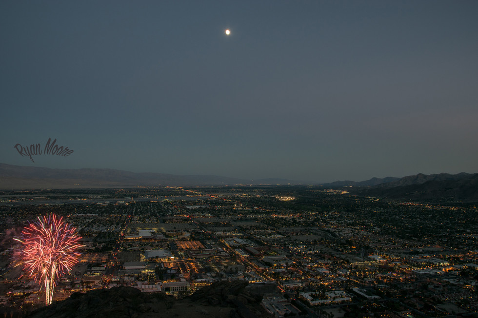 Palm Springs, Super moon
