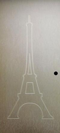 Recouvrement de porte modèle Tour Eiffel