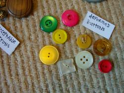 buttons = deformed