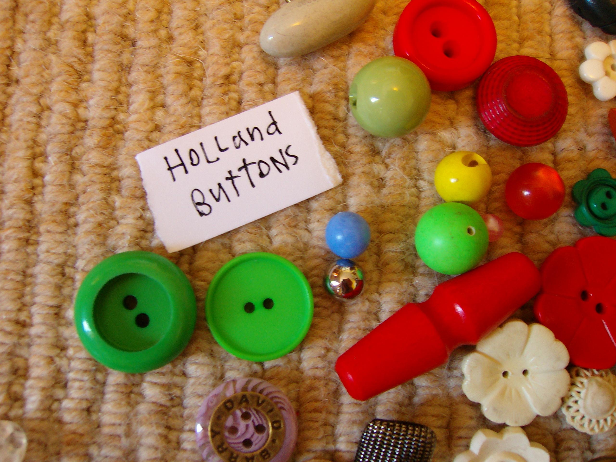 buttons = Holland buttons
