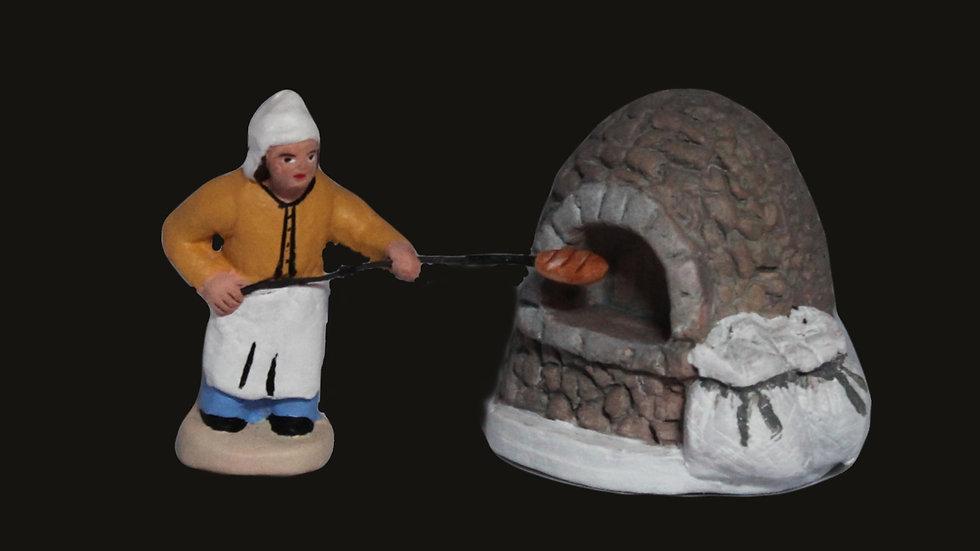Boulanger au four