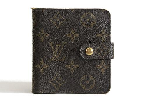 Louis Vuitton Compact wallet in Monogram