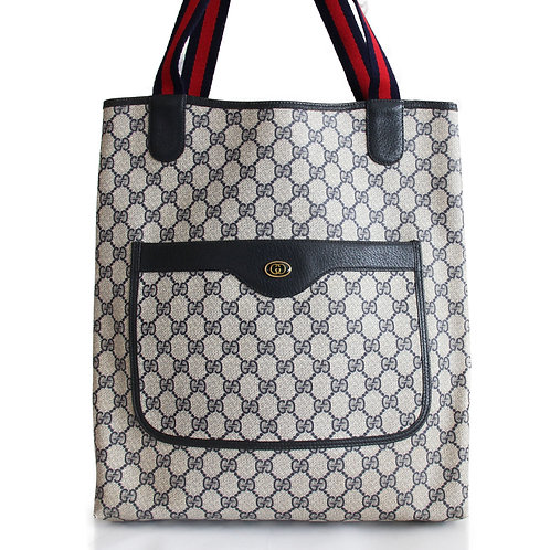 Gucci Vintage Supreme Tote in Gucci Plus Coated Canvas