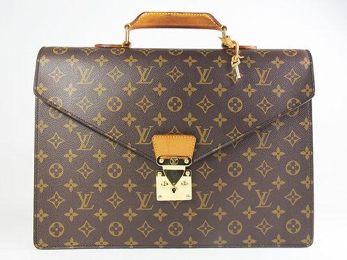 Louis Vuitton Serviette Conseiller Briefcase in Monogram