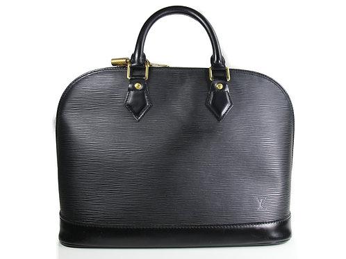 Louis Vuitton Alma in Black Epi Leather