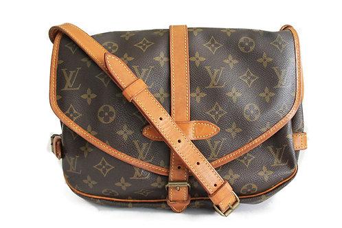 Louis Vuitton Saumur 28 Messenger Bag in Monogram