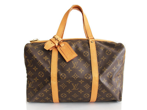 Louis Vuitton Sac Souple 35 Tote in Monogram Comes with Louis Vuitton luggage ta