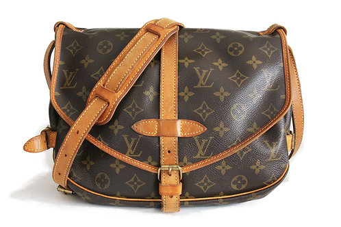 Louis Vuitton Saumur 28 in Monogram