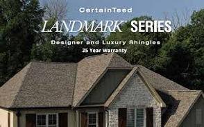 CertainTeed Landmark shingles