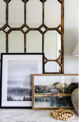 Adding texture to your existing decor.