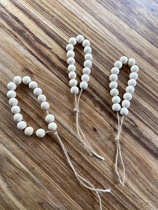 Original small set of beads.