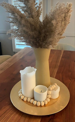 How to decorate with Keyan's farmhouse beads.