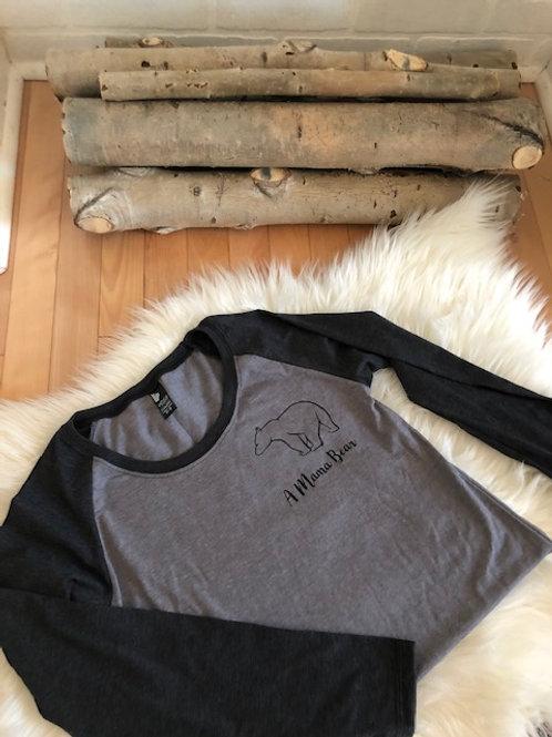 Mama Bear Tee Shirt - Long Sleeve