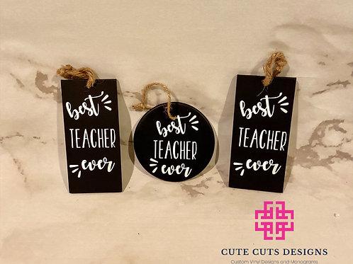Custom Chalkboard Ornaments