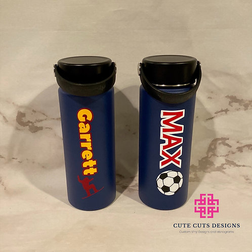 Personalized Hydro Flask Water Bottles