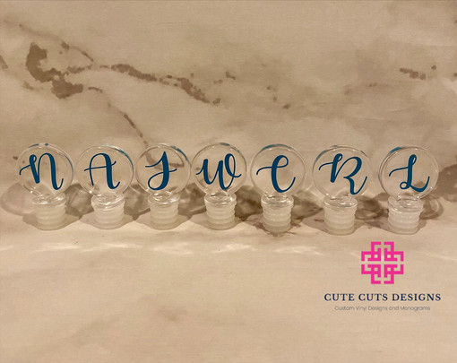 Acrylic Wine Stoppers Initials.JPG