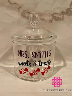 Teacher Sweets Cookie Jar Mrs. Smith.JPG