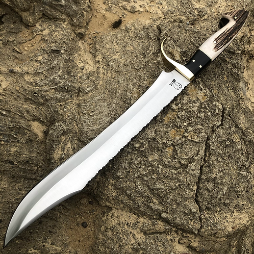 Grand Antler Bowie Knife