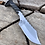 Thumbnail: Clip Point Spike Knife with File Work