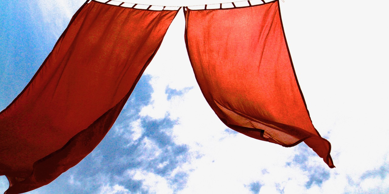 red curtain #1