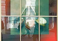 window reflection #3