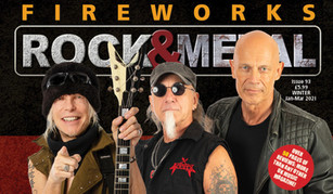 Interview for ROCK & METAL FIREWORKS UK