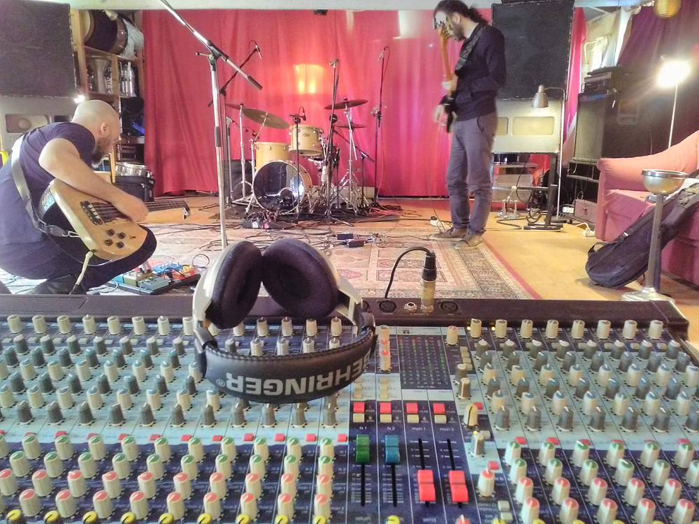 Babel Trio recording session at Alzheimer Royal Hall