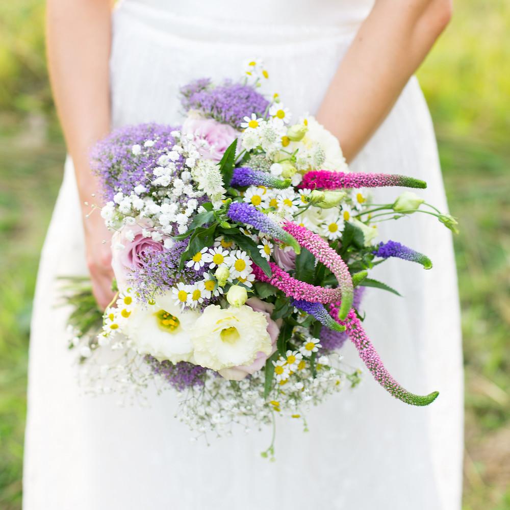 A stunning brides bouquet by Francesca Sharp Flowers