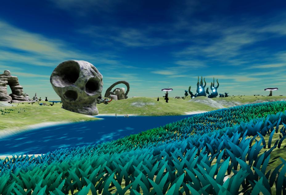 Creature Sim Game