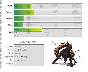 Creature Sim Concept Art